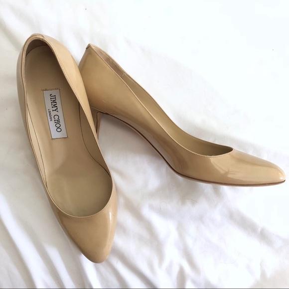 41fd6f079e9 Jimmy Choo Shoes - Jimmy Choo  Gilbert  Nude Heels